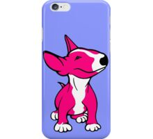 English Bull Terrier Pup Pink iPhone Case/Skin