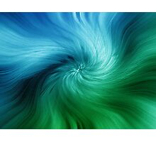 Abstract: IV Photographic Print
