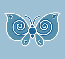 Blue Butterfly by Louise Parton