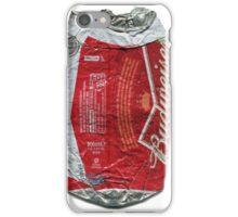Budweiser - crushed tin iPhone Case/Skin