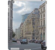 Street scene, Brussels, Belgium iPad Case/Skin