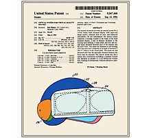 Virtual Reality Helmet Patent - Colour Photographic Print