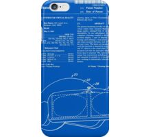 Virtual Reality Helmet Patent - Blueprint iPhone Case/Skin