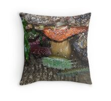 Under Water Beauty Throw Pillow