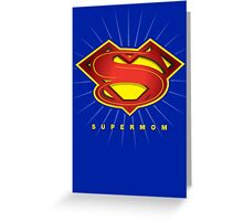 SUPERMOM Greeting Card