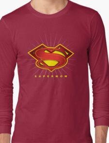 SUPERMOM Long Sleeve T-Shirt