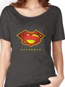 SUPERMOM Women's Relaxed Fit T-Shirt