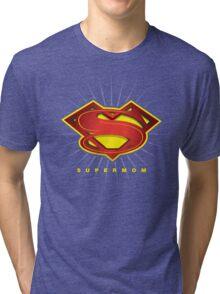 SUPERMOM Tri-blend T-Shirt