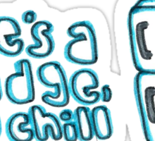 Fridge Quote Sticker