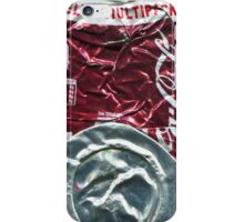 Cherry Cola - Crushed Tin iPhone Case/Skin