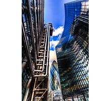 Lloyd's And Willis Group London Photographic Print