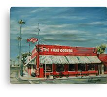 The Crab Cooker Canvas Print