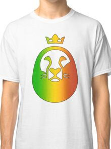 Reggae Lion Of Judah - Gradient Classic T-Shirt