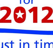 KUCINICH 2012 Sticker