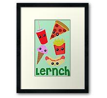 Lernch Framed Print