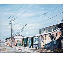 Boat Yard Photographic Print