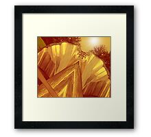 Let There Be Light!!! Framed Print