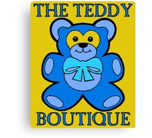 THE TEDDY BEAR BOUTIQUE Canvas Print