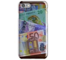 Cash in Hand - Around the World iPhone Case/Skin