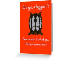 Boggart Greeting Card