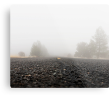 Homecoming. From the fog of war to the fog of life.  Metal Print