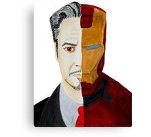 Stark Iron Man Canvas Print