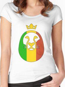 Lion Of Judah - Block Women's Fitted Scoop T-Shirt