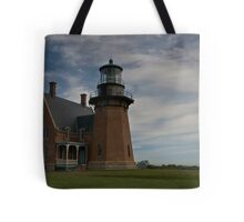 Block Island - South Lighthouse Tote Bag