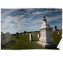 Block Island - Graveyard Poster