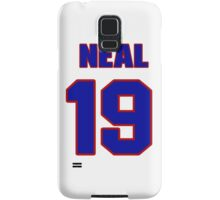 National football player Neal Jeffrey jersey 19 Samsung Galaxy Case/Skin