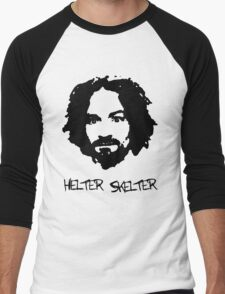 Helter Skelter Men's Baseball ¾ T-Shirt