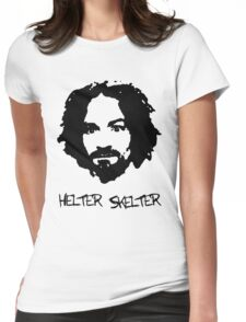Helter Skelter Womens Fitted T-Shirt