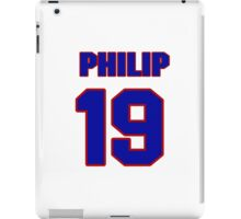 National football player Philip Spiller jersey 19 iPad Case/Skin