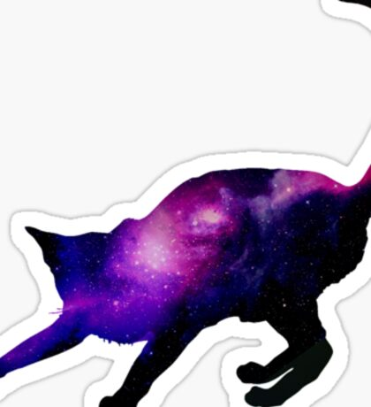 Galaxy Cat 1 Sticker