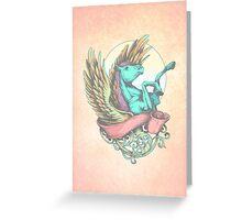 The Divine Stallion Greeting Card