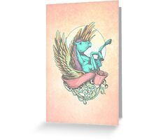 The Divine Stallion Greeting Card