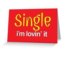 Single Greeting Card