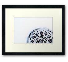 Cookies & Cream Framed Print