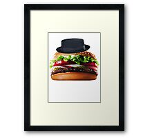 Heisenburger Framed Print