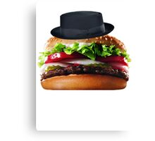 Heisenburger Canvas Print