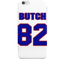 National football player Butch Rolle jersey 82 iPhone Case/Skin
