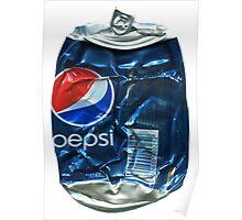 Pepsi Cola - Crushed Tin Poster