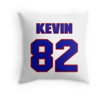 National football player Kevin Cone jersey 82 Throw Pillow