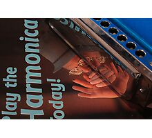 Mouth Organ Manual-Play the Harmonica Today Photographic Print