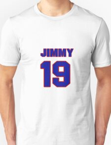 National football player Jimmy Young jersey 19 T-Shirt