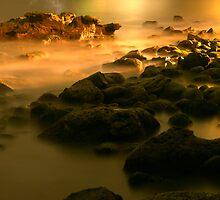 Night Rocks by ajjj