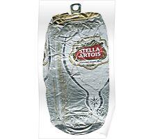 Stella Artois - Crushed Tin Poster