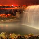 High Level Bridge Waterfall by Vincent Chan