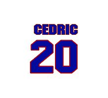 National football player Cedric Griffin jersey 20 Photographic Print
