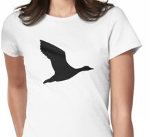 Flying goose Womens Fitted T-Shirt